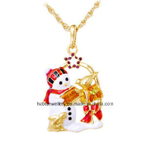 Christmas Jewelry/Christmas Necklace/Christmas Snow (XJW13335) pictures & photos