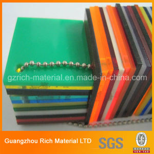 PMMA Cast Acrylic Sheet for Outdoor Signboard/Plastic Perspex PMMA Board pictures & photos