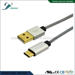 Mobile Phone Charging USB Type C Cable to USB 2.0 a/Male Cable pictures & photos