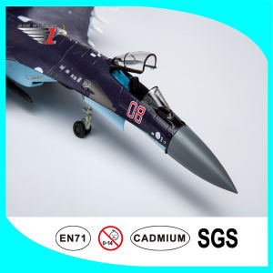 Alloy Diecast Plane Model Su35 Fighter with 1: 72 Scale