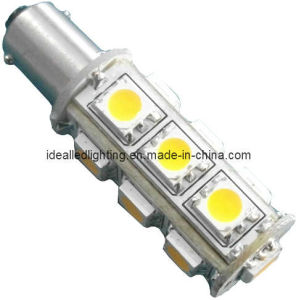 LED Carbulb Ba9s 13LED 10-30V