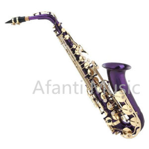 on Sale Student Purple Alto Saxophone (AAS001PU) pictures & photos