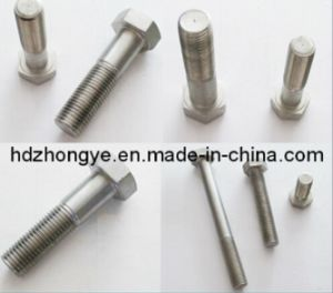China Nuts and Bolts Hex Bolt DIN 931 pictures & photos