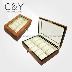 Custom Design 10 Slot Wood Watch Storage Box pictures & photos