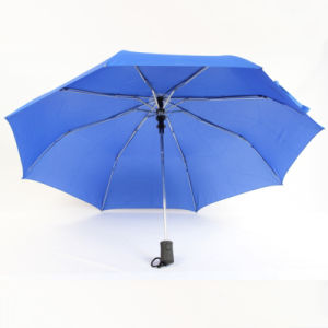 21inch Solid Color Pongee Fabric Auto Open Umbrella