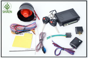 Car Accessories Car Alarm Security System 12V with LED pictures & photos