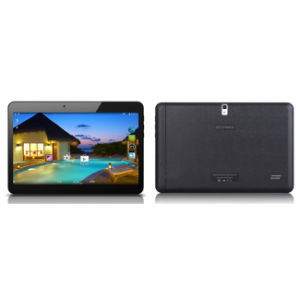 10 Inch IPS HD Screen Bluetooth Android Tablet PC 16GB, Leather Back Cover