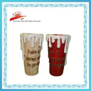Ceramic Garden Flower Pot Christmas Ornament (SMV8V135)