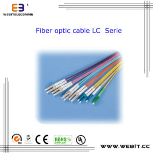 LC Fiber Optic Cable Om1/Om2/Om3/Om4 Sm/Mm Sx/Dx LC/Sc/FC/St/MTRJ Fiber Optic Cable pictures & photos