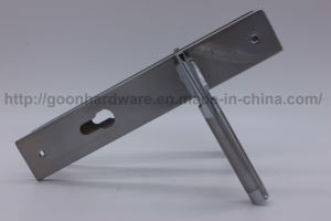 Aluminum Handle on Iron Plate 083 pictures & photos