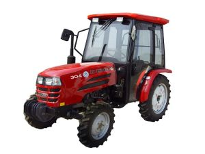 304 Tractor with Cabin/China Made Farm Wheel Tractor/4 Wheel Drive