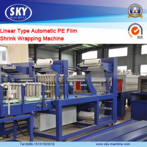 Full Automatic Wrapping Machine / PE Film Shrink Machine for Bottle pictures & photos