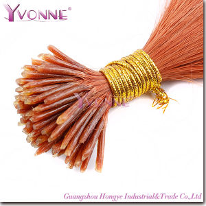 Best Quality Pre-Bonded I Tip Human Hair Extensions pictures & photos