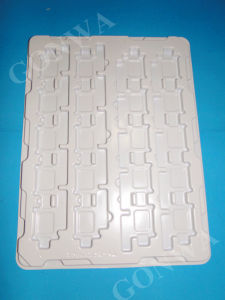 White PP/PS Plastic Tray