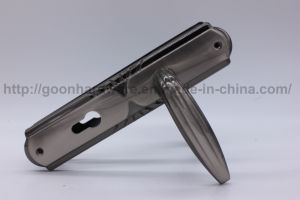 Aluminum Handle on Iron Plate 074 pictures & photos