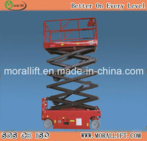 10m Lifting Height Self- Propelled Scissor Lift (SJYZ) pictures & photos