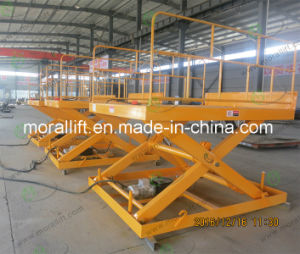 Top Quality Electric Motor Small Scissor Lift Table pictures & photos