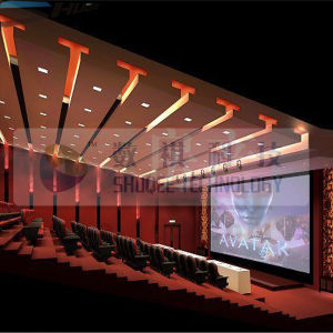 Digital 3D 4D Cinema, Brilliant Design with 3D Film, 4D Motion Chair, Large 3D 4D Theater (SQL-203)