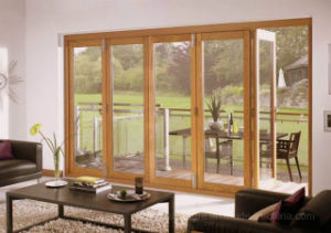 External Timber Bifolding Frame Door pictures & photos