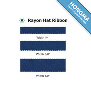 Wholesale Cheap Price Rayon Hat Ribbon 1100-4001