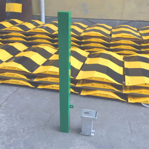 Metal Removable Bollard Rb12 Green pictures & photos