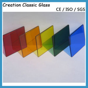 Dark Blue Reflective Glass for Furniture Glass/Window Glass pictures & photos