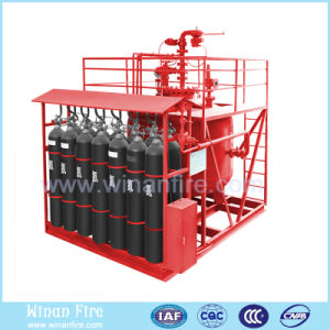 Large Discharge Powder Extinguishing System for Protect Electrical Equipment pictures & photos