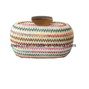 Woven Clutch Bag, Fashion Eveingbag, Small Chain Bag pictures & photos