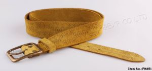 2016 New Fashion Genuine Leather Belt for Women (FM651) pictures & photos