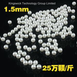 Wholesale No Hole 8mm ABS Pearl Colorful pictures & photos