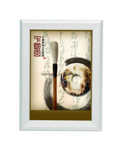 China Wall-Mounted-Home-Office-Acrylic-Poster-Frames-with-Aluminous-Standoffs Suppliers pictures & photos