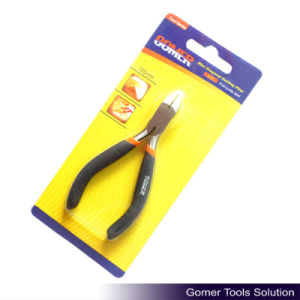 "4.5"" Carbon Steel Dipped Handle Mini Diagonal Cutting Plier (T03060)"