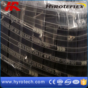 Hydraulic Rubber Hose SAE 100r2 pictures & photos