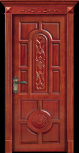 New Design Wood Door (CL-2043) pictures & photos
