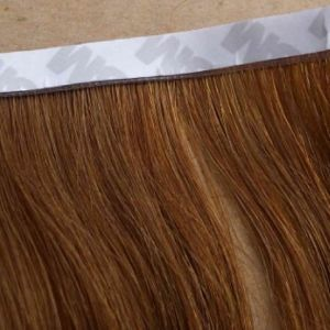 Flat Tape Hair Extensions with 100 % Human Hair Virgin Hair pictures & photos
