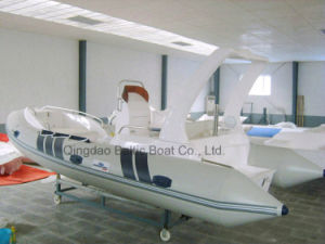 Fiberglass V Hull Boat Manufacture 580 Rib Yacht Ce pictures & photos