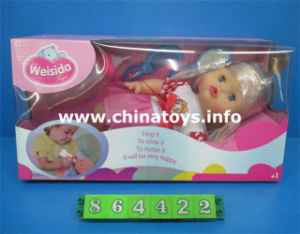 "New Style Plastic Toys 12""Doll with Drink Water (864422) pictures & photos"