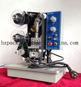 Electric Coding Machine for Plastic Bag (HP-241B) pictures & photos