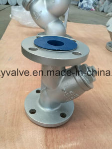 "API/DIN/JIS Cast Steel A216 Wcb 2 1/2"" Dn65 Y Strainer pictures & photos"