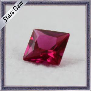 Square Cut Ruby Corundum pictures & photos