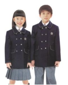 2014 Beautiful School Uniform of Coat and Pants -Su43 pictures & photos