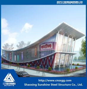 Light Weight Steel Structure Hall with H Beam for Decorated Exhibition pictures & photos