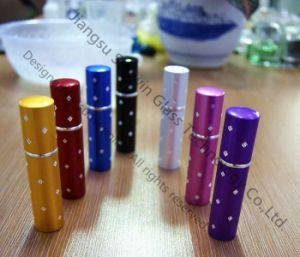 Aluminum Lipstick Perfume Glass Bottle (L-1016)
