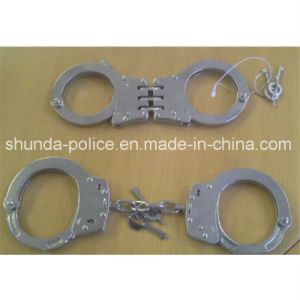 Hot Sale Best Quality Police Carbon Steel Handcuff pictures & photos
