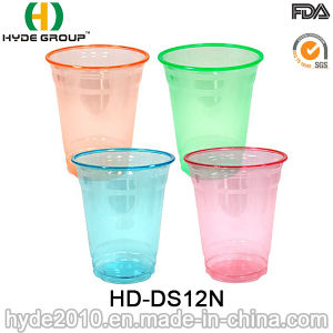 12oz Disposable Plastic Pet Cup with Dome Lid pictures & photos