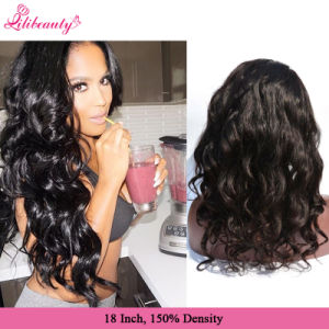 100% Virgin Human Hair Body Wave Full Lace Wigs pictures & photos