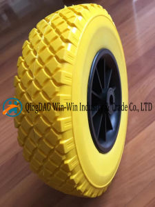 "260mm Flat Free Hand Truck Tire 10""X3.50-4 pictures & photos"