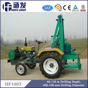 Tractor Mounted Water Well Drilling Rig for Sale (HF100T) pictures & photos