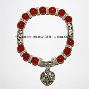 Fashion Semi Precious Stone Crystal Beaded Jewelry Bracelet Bangle pictures & photos
