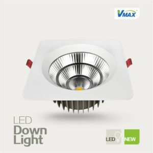 Square 10W LED Recessed Light 3000k/4000k/6500k Color Temperature AC220V-240V CE&RoHS Indoor Lighting pictures & photos
